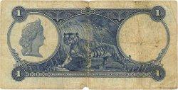 1 Dollar MALAISIE - ÉTABLISSEMENTS DES DÉTROITS  1932 P.16a B+