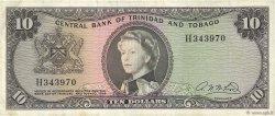 10 Dollars TRINIDAD et TOBAGO  1964 P.28b TTB