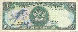 5 Dollars TRINIDAD et TOBAGO  1985 P.37b TTB
