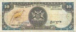 10 Dollars TRINIDAD et TOBAGO  1985 P.38a TB+