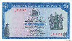 1 Dollar RHODÉSIE  1970 P.30a NEUF