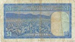 1 Dollar RHODÉSIE  1971 P.30c TB+