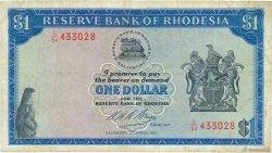 1 Dollar RHODÉSIE  1973 P.30h TB