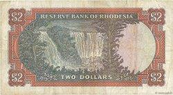 2 Dollars RHODÉSIE  1970 P.31c TB
