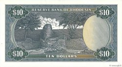10 Dollars RHODÉSIE  1971 P.33b SPL