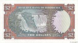 2 Dollars RHODÉSIE  1977 P.35c NEUF
