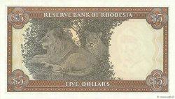 5 Dollars RHODÉSIE  1976 P.36a NEUF