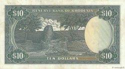 10 Dollars RHODÉSIE  1976 P.37a TTB