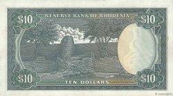 10 Dollars RHODÉSIE  1979 P.41a SUP