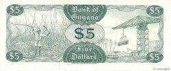 5 Dollars GUYANA  1966 P.22c NEUF