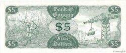 5 Dollars GUYANA  1966 P.22d NEUF