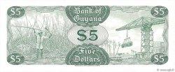 5 Dollars GUYANA  1969 P.22e NEUF