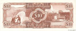 10 Dollars GUYANA  1966 P.23b NEUF