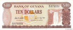 10 Dollars GUYANA  1989 P.23d pr.NEUF