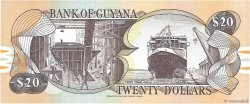 20 Dollars GUYANA  1989 P.27 NEUF