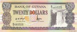 20 Dollars GUYANA  1996 P.30b1 NEUF