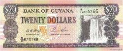 20 Dollars GUYANA  1996 P.30b2 NEUF