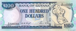 100 Dollars GUYANA  1999 P.31 NEUF