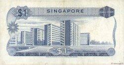 1 Dollar SINGAPOUR  1967 P.01a TB