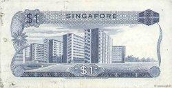 1 Dollar SINGAPOUR  1971 P.01c TTB