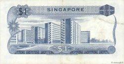1 Dollar SINGAPOUR  1972 P.01d TTB