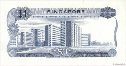 1 Dollar SINGAPOUR  1972 P.01d SUP
