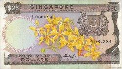 25 Dollars SINGAPOUR  1972 P.04 pr.TTB
