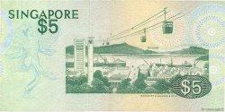 5 Dollars SINGAPOUR  1976 P.10 TB+