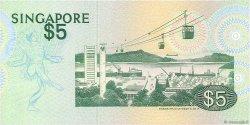 5 Dollars SINGAPOUR  1976 P.10 SUP