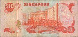 10 Dollars SINGAPOUR  1980 P.11b TB