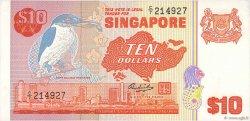 10 Dollars SINGAPOUR  1980 P.11b SUP