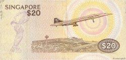 20 Dollars SINGAPOUR  1979 P.12 TB+