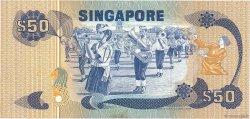 50 Dollars SINGAPOUR  1976 P.13a TTB