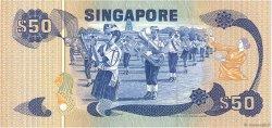 50 Dollars SINGAPOUR  1976 P.13a TTB+