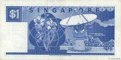 1 Dollar SINGAPOUR  1987 P.18a TTB