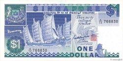 1 Dollar SINGAPOUR  1987 P.18a SUP