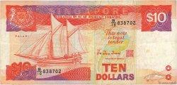 10 Dollars SINGAPOUR  1988 P.20 TB