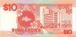 10 Dollars SINGAPOUR  1988 P.20 TTB
