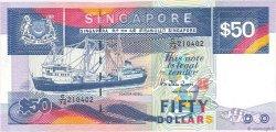 50 Dollars SINGAPOUR  1987 P.22b SUP