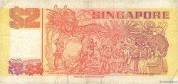 2 Dollars SINGAPOUR  1990 P.27 TB