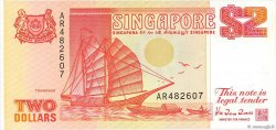 2 Dollars SINGAPOUR  1990 P.27 pr.NEUF