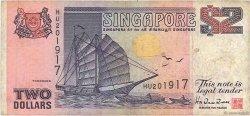 2 Dollars SINGAPOUR  1992 P.28 TB