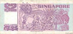 2 Dollars SINGAPOUR  1992 P.28 TTB