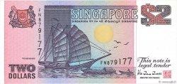 2 Dollars SINGAPOUR  1992 P.28 pr.NEUF