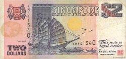 2 Dollars SINGAPOUR  1997 P.34 TB