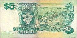 5 Dollars SINGAPOUR  1997 P.35 TB