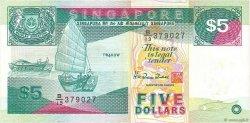 5 Dollars SINGAPOUR  1997 P.35 TTB