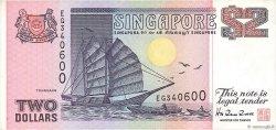 2 Dollars SINGAPOUR  1998 P.37 TTB