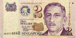 2 Dollars SINGAPOUR  1999 P.38 TTB