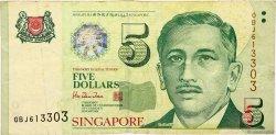 5 Dollars SINGAPOUR  1999 P.39 TB